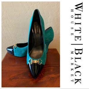 NWT White House Black Market Samantha Heels